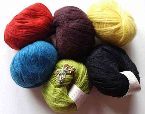 monika design Yarns First Class
