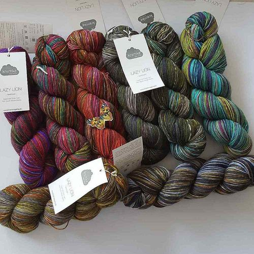 kremke soul wool LAZY LION hand-dyed