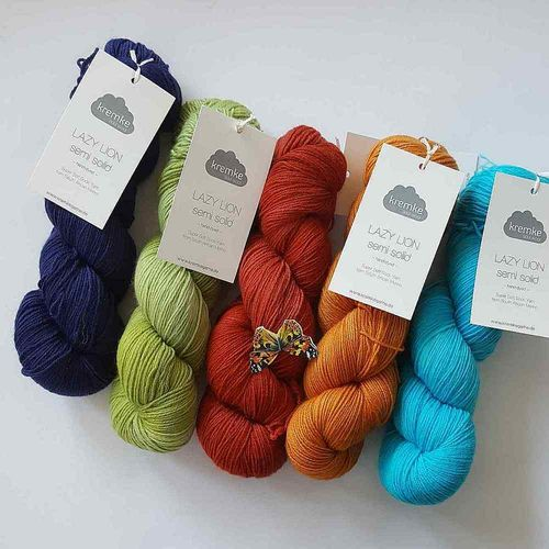 kremke soul wool LAZY LION semi solid